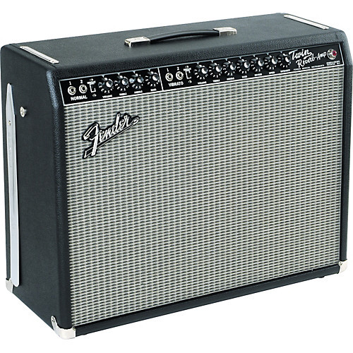 "The Legendary '65 Twin Reverb The Fender '65 Twin Reverb is a meticulous reissue of a true American classic. Whether your guitar has humbucking or single-coil pickups, this iconic 85-watt, all-tube combo amp serves up definitive clean tone that's perfect for rock, country, blues, jazz, fusion, and more. And it takes pedals splendidly. The Twin is devastatingly loud. Spanking clean to around ""8"" on its volume dial, it can go toe-to-toe with any drummer onstage, but it speaks with authority at any volume — beautifully chimey, glassy, and full-throated. Sonically, the '65 Twin Reverb reissue is based on Fender's classic 1965 Blackface circuitry, and it delivers the legendary sound you've heard on countless hit records"