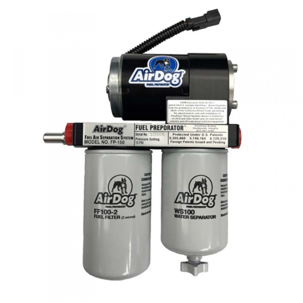 AirDog A4SPBC087 150GPH Air/Fuel Separation System