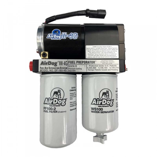 AIRDOG II-4G DF-100-4G AIR/FUEL SEPARATION SYSTEM 2001-2010 GM 6.6L DURAMAX (STOCK TO MODERATE)