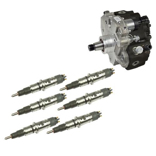BD 6.7L Cummins Stage 2 Performance CR Pump & Injectors Package - Dodge 2007.5-2018