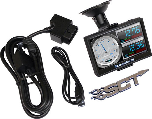 SCT Livewire TS+ Performance Programmer 2008-2010 Ford 6.4 Powerstroke