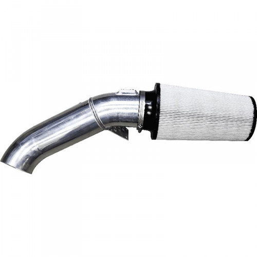 """GDP Tuning 4"""" Open air intake system 11-16 Ford 6.7L Powerstroke (White)"""
