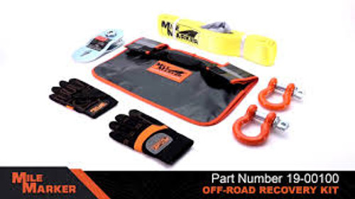 MILE MARKER OFF-ROAD RECOVERY KIT(Tow Rope)
