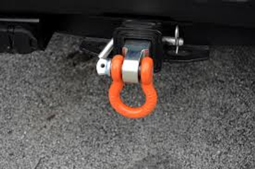 MILE MARKER STEEL HITCH RECEIVER WITH D-RING