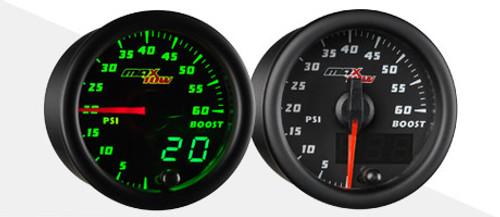 Glowshift MaxTow Fuel Pressure Gauge Kit 2003-2007 Ford 6.0 Powerstroke Diesel
