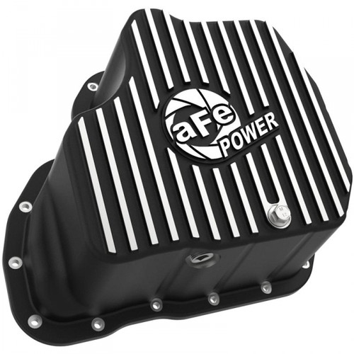 """AFE PRO SERIES EXTRA DEEP ENGINE OIL PAN 2001-2010 GM 6.6L DURAMAX (WITH 6"""" LIFT)"""