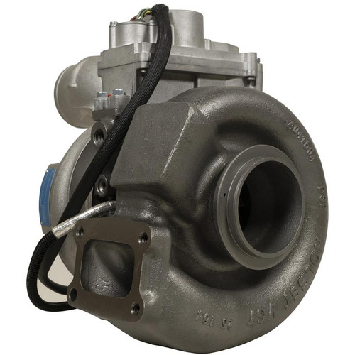 Right side of BD-Power Stock Replacement Turbocharger