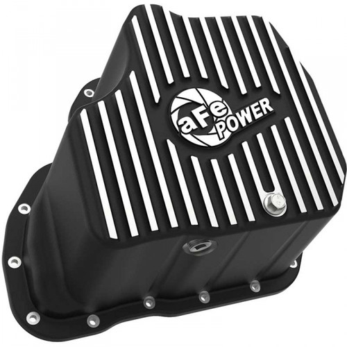 """AFE PRO SERIES EXTRA DEEP ENGINE OIL PAN 2011-2016 GM 6.6L DURAMAX (WITH 6"""" LIFT)"""