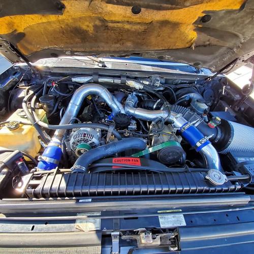 Full Force Diesel Intercooler Installed 1994-1997 Ford 7.3L Powerstroke