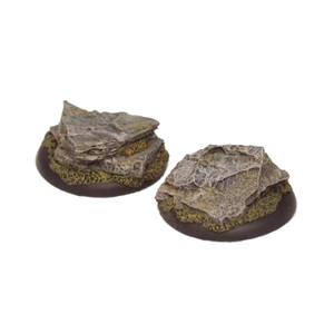 GFB004 40mm Resin Stone Outcropping Figure Bases