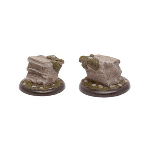 GFB006 Large Round Cliff Formation Display Base