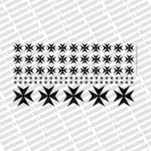 Iron Cross #3 Prime Scale Waterslide Decal