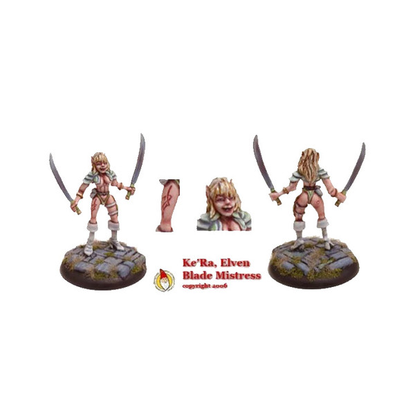 FAIRY002 Ke'Ra The Elven Blade Mistress