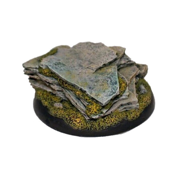 GFB005 50mm Resin Stone Outcropping Base