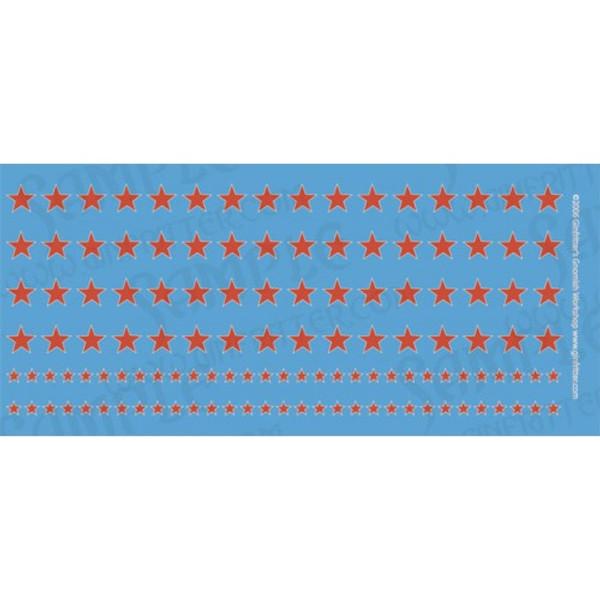 WWII004 15mm WWII Soviet Red Stars