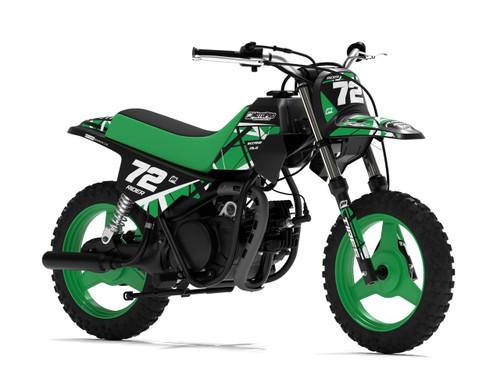 MotoPro Graphics Yamaha PW50 ERUPTION Green Graphics