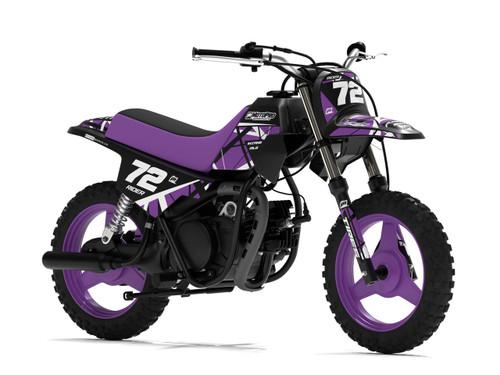 MotoPro Graphics Yamaha PW50 ERUPTION PURPLE Graphics