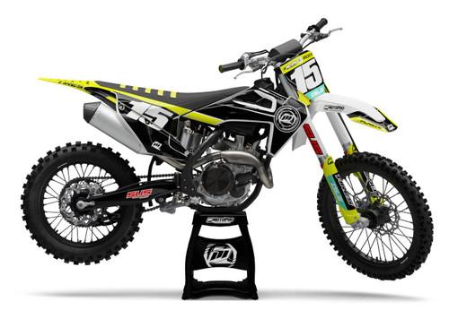 MotoPro Graphics Husqvarna Dirt Bike SHARPER Graphics