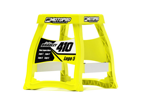 MotoPro Graphics Matrix M64 Stand Graphics - Factory Yellow stand not included