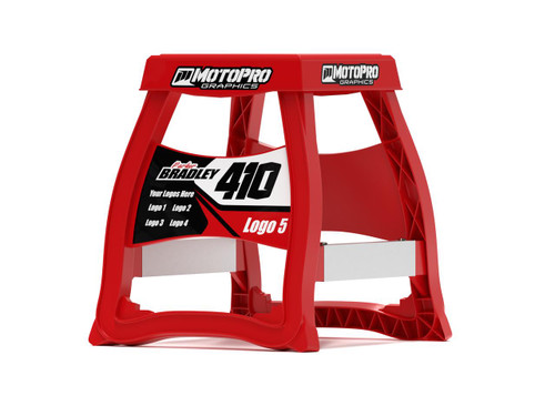 MotoPro Graphics Matrix M64 Stand Graphics - Factory Red stand not included