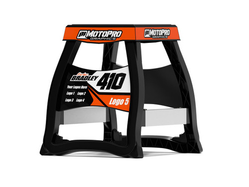 MotoPro Graphics Matrix M64 Stand Graphics - Factory Orange stand not included