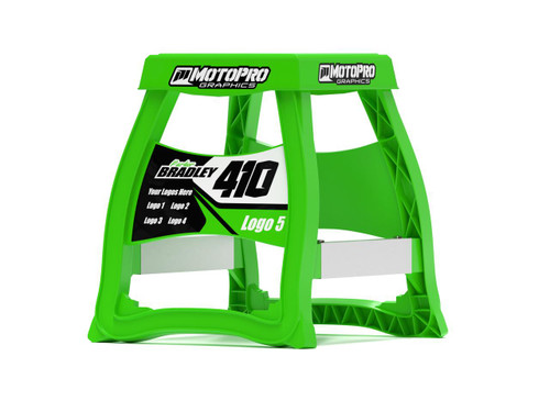 MotoPro Graphics Matrix M64 Stand Graphics - Factory Green stand not included