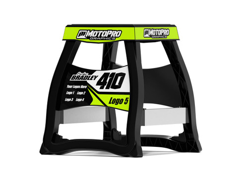MotoPro Graphics Matrix M64 Stand Graphics - Factory FLO stand not included