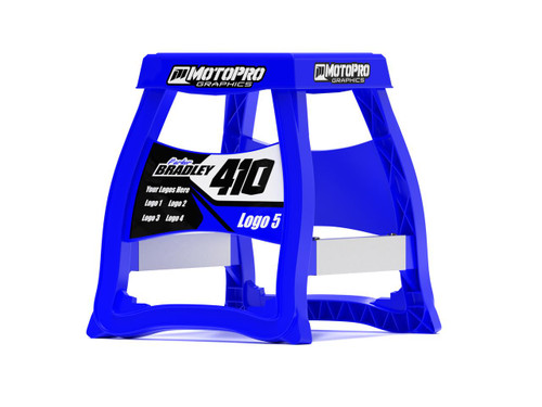 MotoPro Graphics Matrix M64 Stand Graphics - Factory Blue stand not included