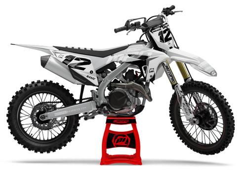 MotoPro Graphics Honda Dirt Bike Wurx Grey Graphics