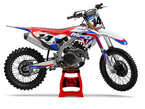 MotoPro Graphics Honda Dirt Bike All Star Series Series Graphics
