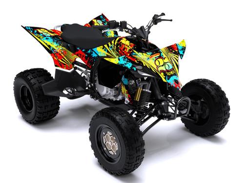 MotoPro Graphics Yamaha YFZ450 Quad ATV Full Graphics Set - SPLASHER 2