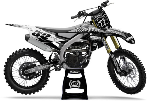 MotoPro Graphics Yamaha Dirt Bike FAST Black Graphics