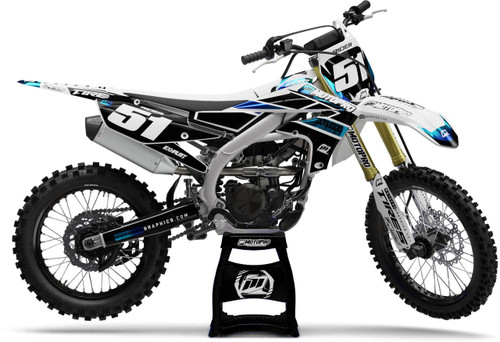 MotoPro Graphics Yamaha Dirt Bike NEXT CHROME Graphics