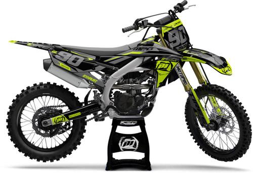 MotoPro Graphics Yamaha Dirt Bike Heet Flo Series Graphics