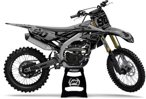 MotoPro Graphics Yamaha Dirt Bike Heet Black Series Graphics