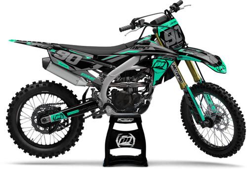 MotoPro Graphics Yamaha Dirt Bike Heet Mint Graphics