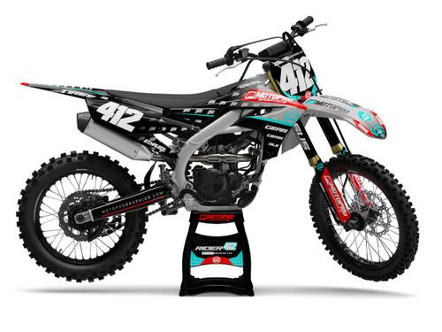 MotoPro Graphics Yamaha Dirt Bike ARROW Series Graphics