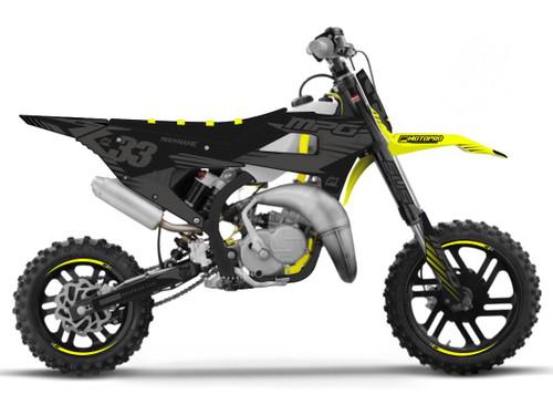 MotoPro Graphics Cobra Dirt Bike Gamma Stealth Graphics Set