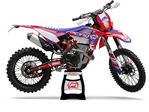MotoPro Graphics BETA Dirt Bike FACTORY Series Graphics Set