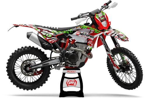 MotoPro Graphics BETA Dirt Bike SPLASHER Series Graphics Set