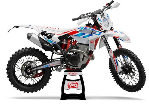 MotoPro Graphics BETA Dirt Bike KNOCK Series Graphics Set
