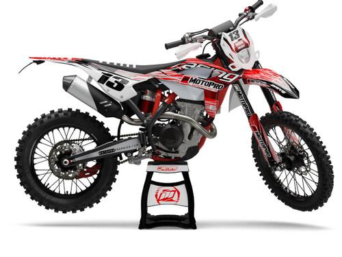 MotoPro Graphics BETA Dirt Bike PATROL Series Graphics Set
