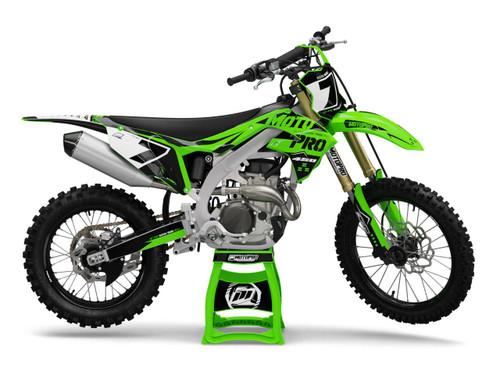 MotoPro Graphics Kawasaki Dirt Bike BAIO Series Graphics