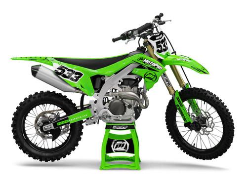 MotoPro Graphics Kawasaki Dirt Bike OSHEE Series Graphics