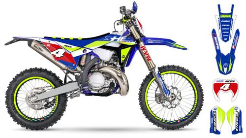 MotoPro Graphics Sherco Dirt Bike VERBERO Series Graphics