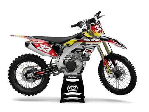MotoPro Graphics Suzuki Dirt Bike GRUNT Series Graphics