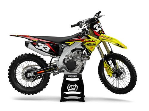 MotoPro Graphics Suzuki Dirt Bike PHANTOM Series Graphics