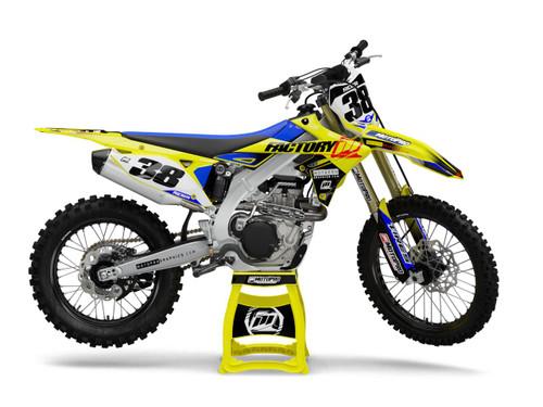 MotoPro Graphics Suzuki Dirt Bike FACTO Series Graphics