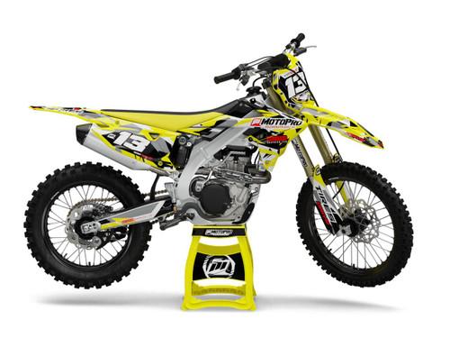 MotoPro Graphics Suzuki Dirt Bike STRUCTION Series Graphics