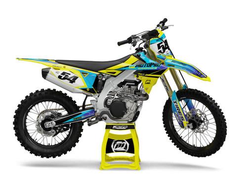 MotoPro Graphics Suzuki Dirt Bike TEXO Series Graphics